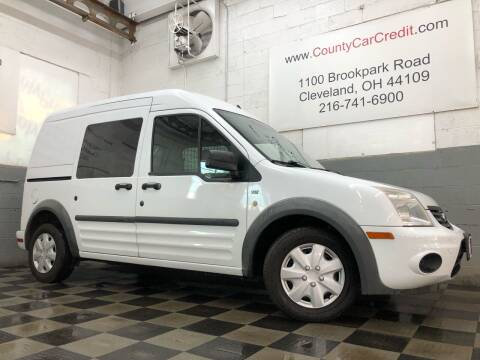 2012 Ford Transit Connect for sale at County Car Credit in Cleveland OH