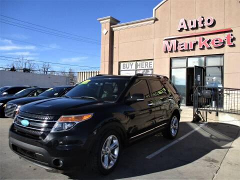 2015 Ford Explorer for sale at Auto Market in Oklahoma City OK