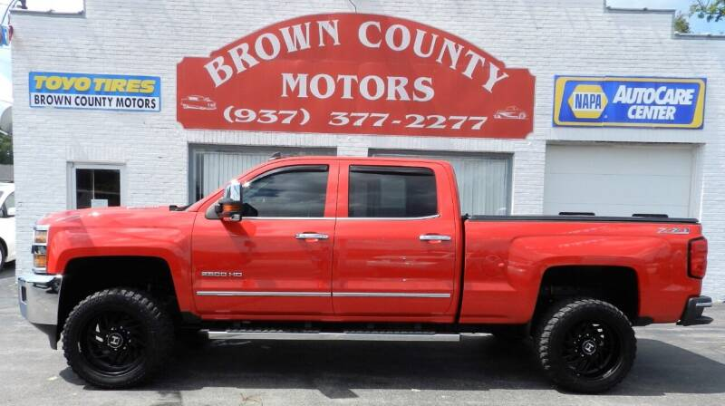 2016 Chevrolet Silverado 2500HD for sale at Brown County Motors in Russellville OH