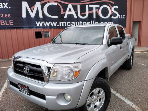 2007 Toyota Tacoma for sale at MC Autos LLC in Pharr TX