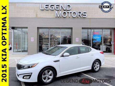 2015 Kia Optima for sale at Legend Motors of Waterford in Waterford MI