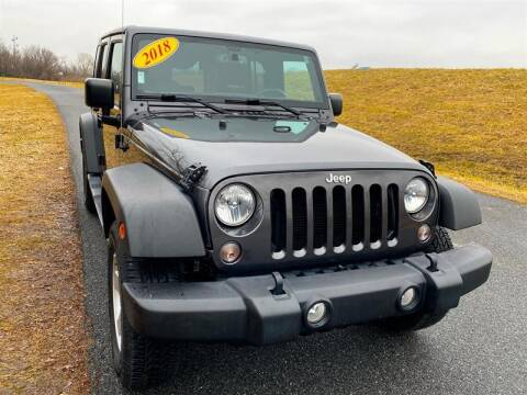 2018 Jeep Wrangler JK Unlimited for sale at Mr. Car LLC in Brentwood MD