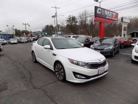 2012 Kia Optima for sale at Comet Auto Sales in Manchester NH