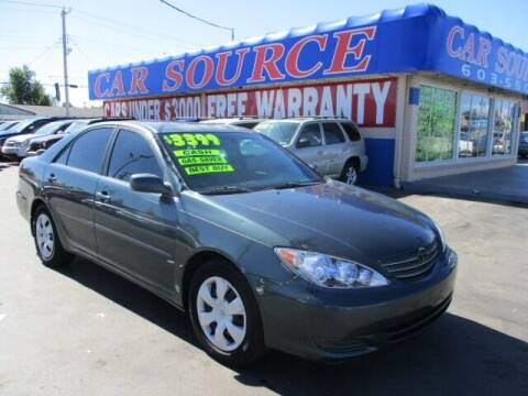 2005 Toyota Camry for sale at CAR SOURCE OKC in Oklahoma City OK