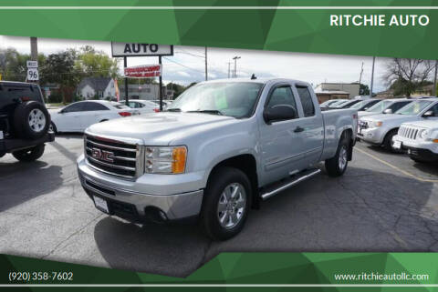 2013 GMC Sierra 1500 for sale at Ritchie Auto in Appleton WI