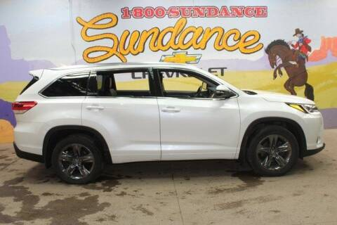 2018 Toyota Highlander for sale at Sundance Chevrolet in Grand Ledge MI