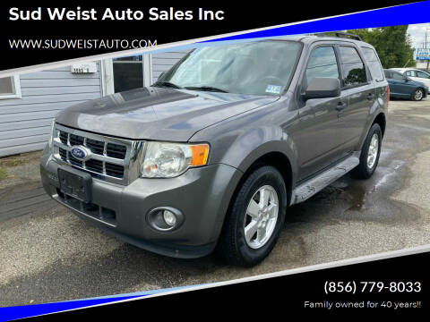 2010 Ford Escape for sale at Sud Weist Auto Sales Inc in Maple Shade NJ