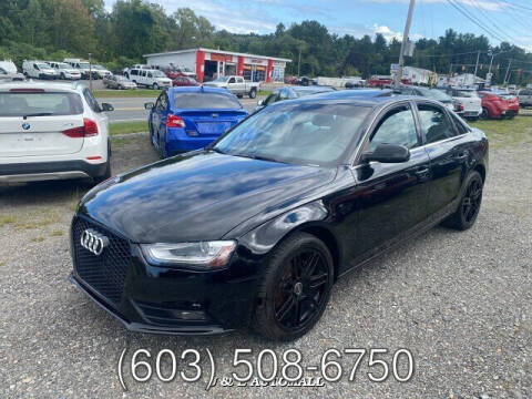 2013 Audi A4 for sale at J & E AUTOMALL in Pelham NH