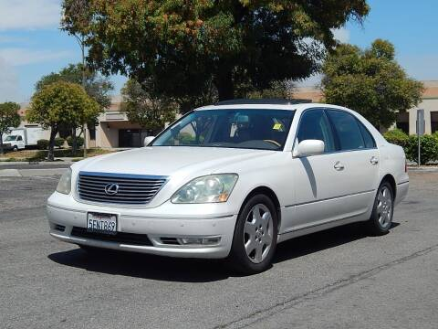 2004 Lexus LS 430 for sale at Crow`s Auto Sales in San Jose CA