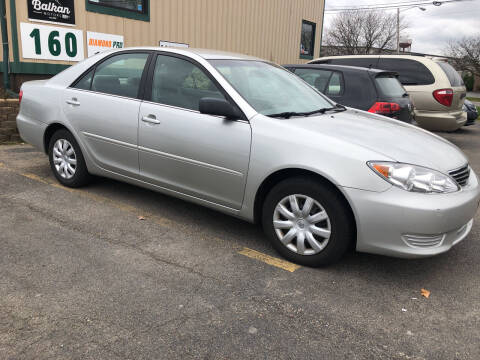 2005 Toyota Camry for sale at BALKAN MOTORS in East Rochester NY