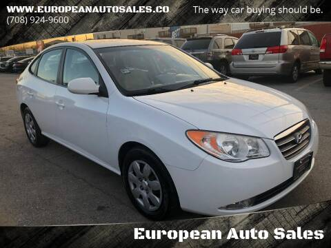 2009 Hyundai Elantra for sale at European Auto Sales in Bridgeview IL