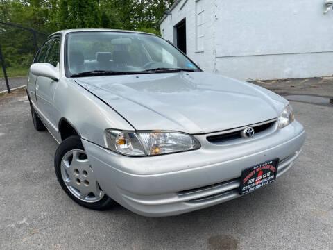 2000 Toyota Corolla for sale at JerseyMotorsInc.com in Teterboro NJ