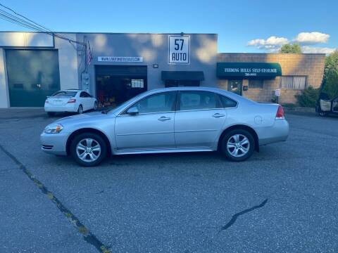 2012 Chevrolet Impala for sale at 57 AUTO in Feeding Hills MA