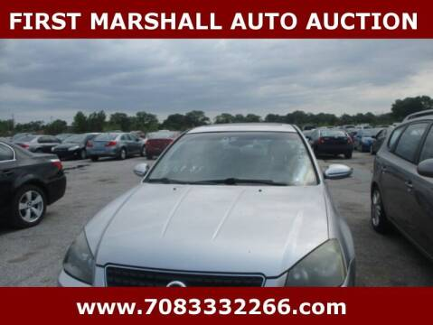 2005 Nissan Altima for sale at First Marshall Auto Auction in Harvey IL