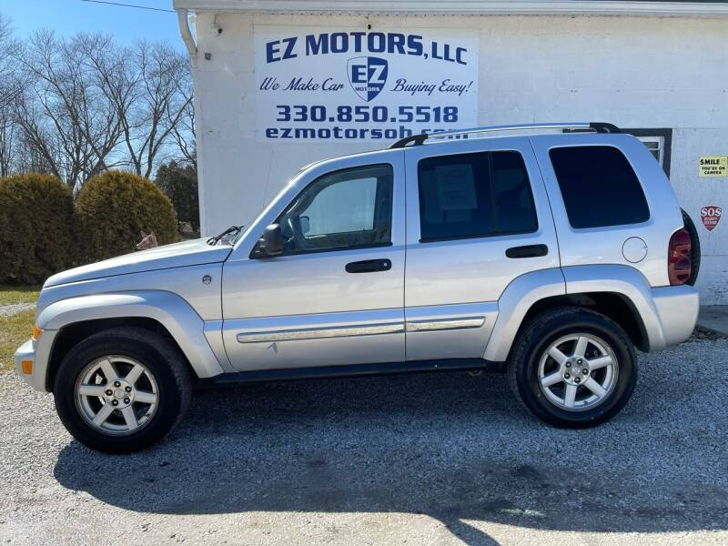 2007 Jeep Liberty for sale at EZ Motors in Deerfield OH