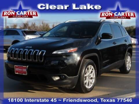 2018 Jeep Cherokee for sale at Ron Carter  Clear Lake Used Cars in Houston TX