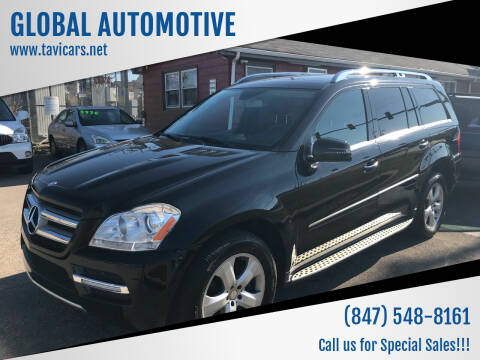 2012 Mercedes-Benz GL-Class for sale at GLOBAL AUTOMOTIVE in Gages Lake IL