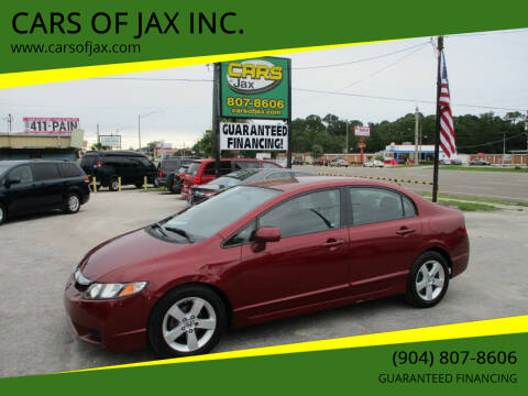 2011 Honda Civic for sale at CARS OF JAX INC. in Jacksonville FL