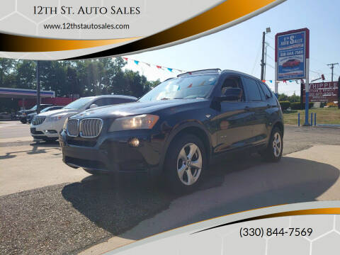2011 BMW X3 for sale at 12th St. Auto Sales in Canton OH