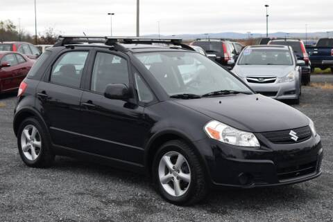2009 Suzuki SX4 Crossover for sale at GREENPORT AUTO in Hudson NY