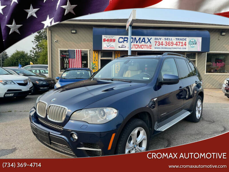2011 BMW X5 for sale at Cromax Automotive in Ann Arbor MI
