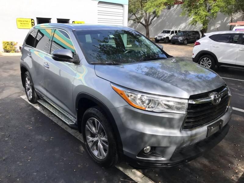 2014 Toyota Highlander for sale at FLORIDA CAR TRADE LLC in Davie FL