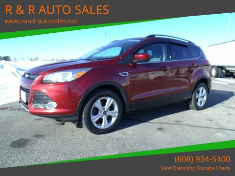 2014 Ford Escape for sale at R & R AUTO SALES in Juda WI
