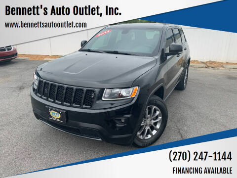 2014 Jeep Grand Cherokee for sale at Bennett's Auto Outlet, Inc. in Mayfield KY