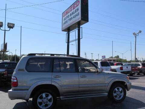 2003 Toyota Land Cruiser for sale at United Auto Sales in Oklahoma City OK