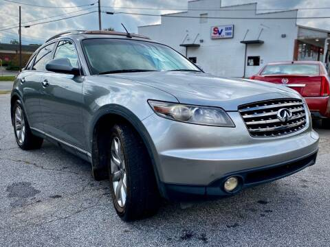 2005 Infiniti FX35 for sale at T.K. AUTO SALES LLC in Salisbury NC