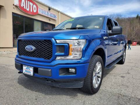 2018 Ford F-150 for sale at Auto Wholesalers Of Hooksett in Hooksett NH