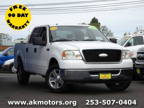 2008 Ford F-150 for sale at AK Motors in Tacoma WA