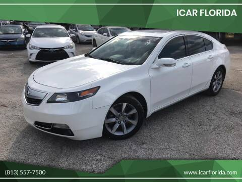 2012 Acura TL for sale at ICar Florida in Lutz FL