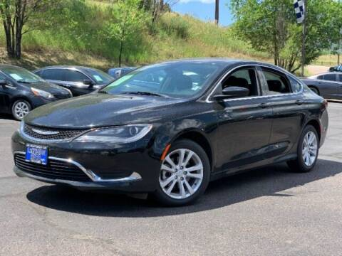 2015 Chrysler 200 for sale at Lakeside Auto Brokers Inc. in Colorado Springs CO