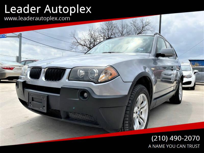 2005 BMW X3 for sale at Leader Autoplex in San Antonio TX