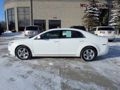 2010 Chevrolet Malibu for sale at Elite Motors in Fargo ND