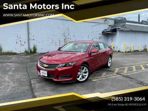 2014 Chevrolet Impala for sale at Santa Motors Inc in Rochester NY