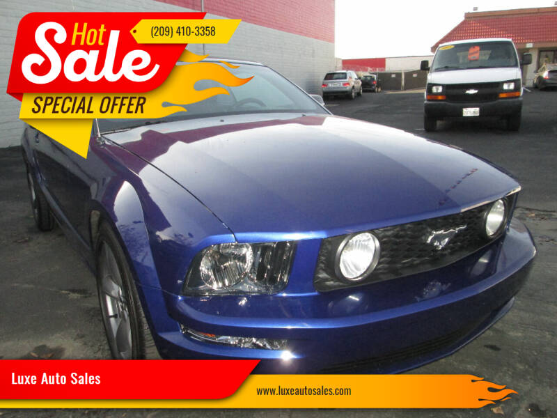 2005 Ford Mustang for sale at Luxe Auto Sales in Modesto CA