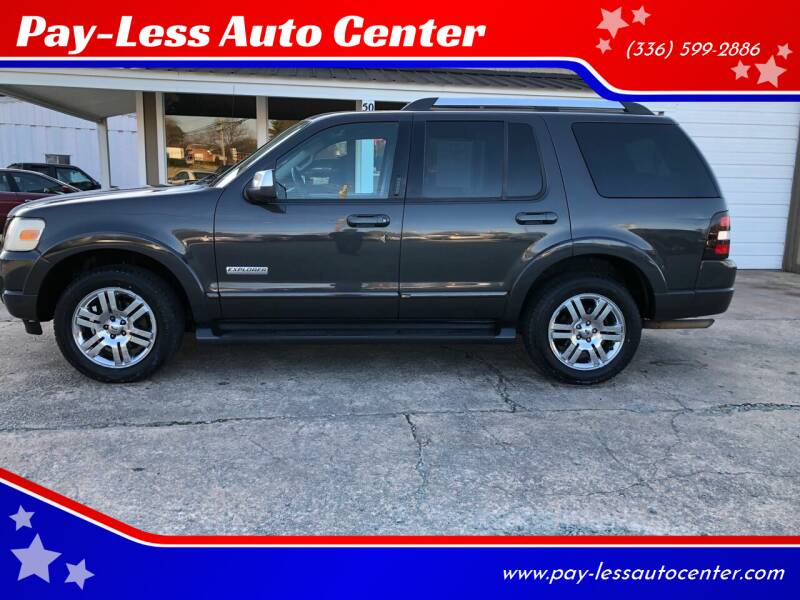 2007 Ford Explorer for sale at Pay-Less Auto Center-Burlington Road in Roxboro NC