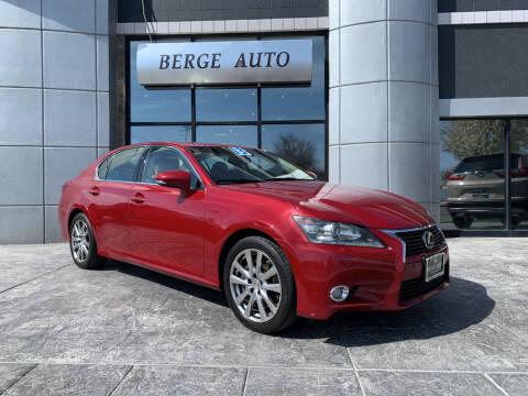 2013 Lexus GS 350 for sale at Berge Auto in Orem UT