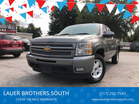 2012 Chevrolet Silverado 1500 for sale at LAUER BROTHERS SOUTH in York PA