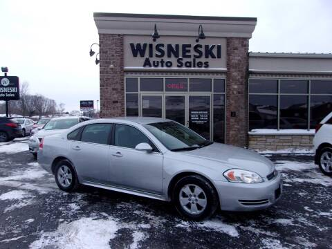 2009 Chevrolet Impala for sale at Wisneski Auto Sales, Inc. in Green Bay WI