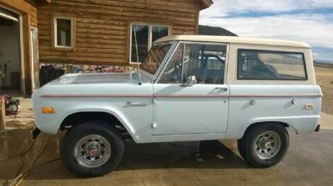 1974 Ford Bronco for sale at Haggle Me Classics in Hobart IN