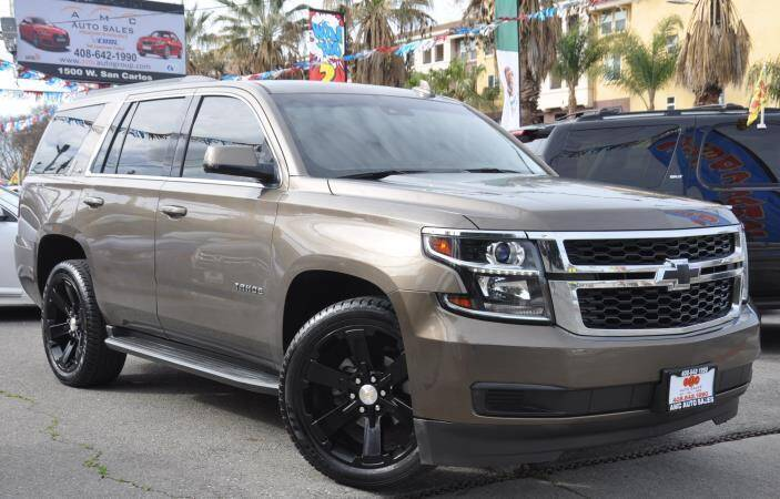2015 Chevrolet Tahoe for sale at AMC Auto Sales Inc in San Jose CA