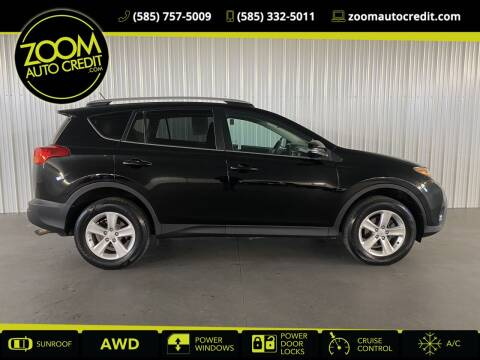 2013 Toyota RAV4 for sale at ZoomAutoCredit.com in Elba NY