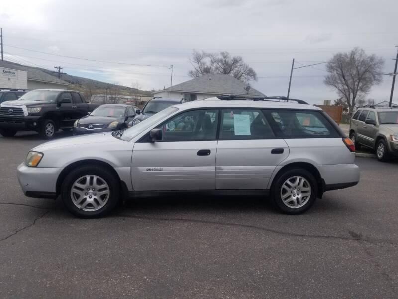2004 Subaru Outback for sale at BRAMBILA MOTORS in Pocatello ID