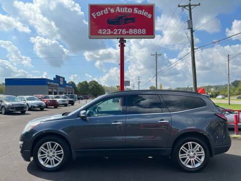 2014 Chevrolet Traverse for sale at Ford's Auto Sales in Kingsport TN
