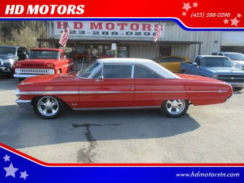 1964 Ford Galaxie 500 for sale at HD MOTORS in Kingsport TN