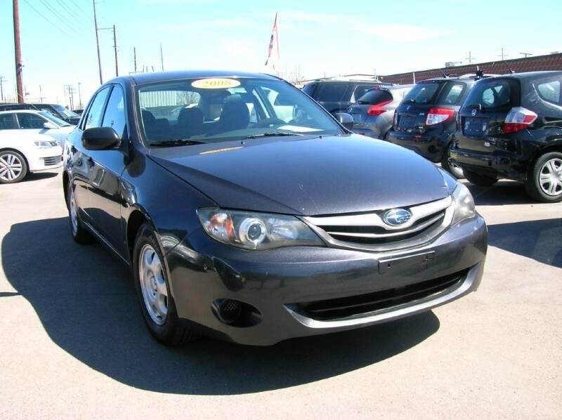 2008 Subaru Impreza for sale at Avalanche Auto Sales in Denver CO
