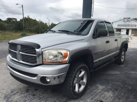 2006 Dodge Ram Pickup 1500 for sale at Jack's Auto Sales in Port Richey FL
